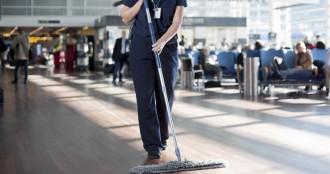 Уборка аэропорта